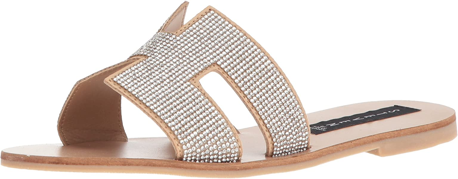 a283f3747 STEVEN by Steve Madden Women s Greece-R Sandal Blush Multi 6 ...