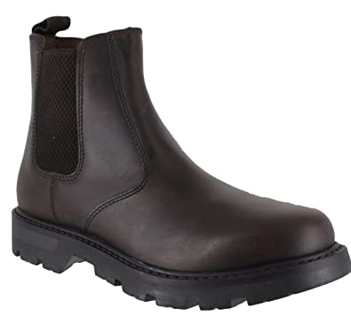 Oaktrak Rocksley Boys Kids Leather Dealer Pull On Chelsea Boots:  Amazon.co.uk: Shoes & Bags