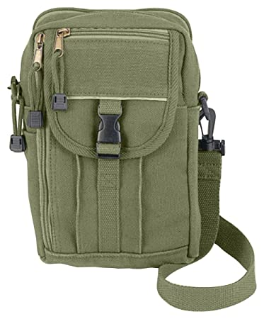 Amazon.com: Rothco H/W Canvas Classic Passport Travel Pouch, Olive ...