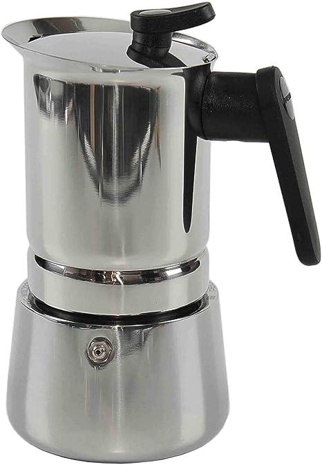 Pedrini - Cafetera de Acero Inoxidable para inducción (6 Tazas): Pedrini: Amazon.es: Hogar