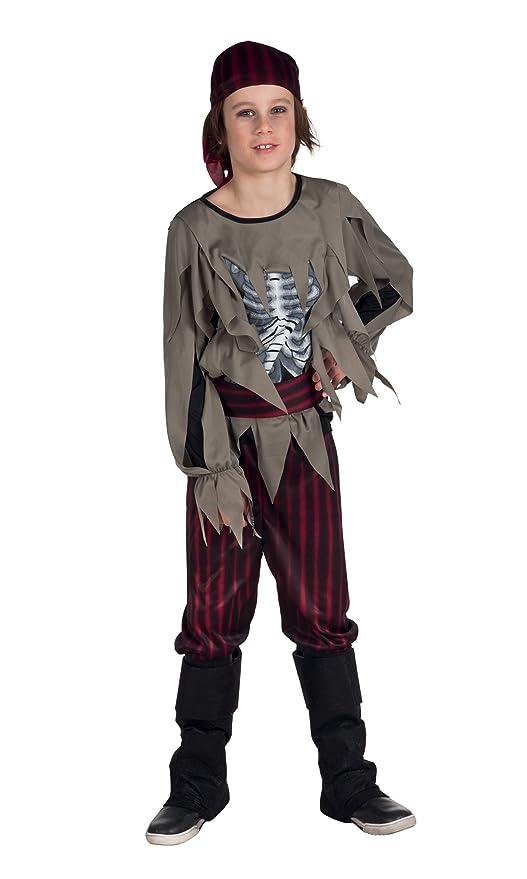 Boland 78061 - Niño Disfraz Zombie pirata: Amazon.es: Juguetes y ...