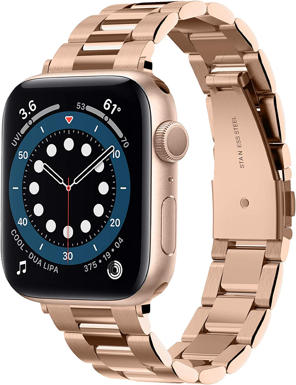 Spigen Modern Fit Designed For Apple Watch Band for 40mm/38mm Series 6/SE/5/4/3/2/1 - Rose Gold