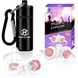 High Fidelity Music Ear Plugs for Women, Hearprotek 20db Noise Reduction Earplugs-Hearing Protection for Concert…