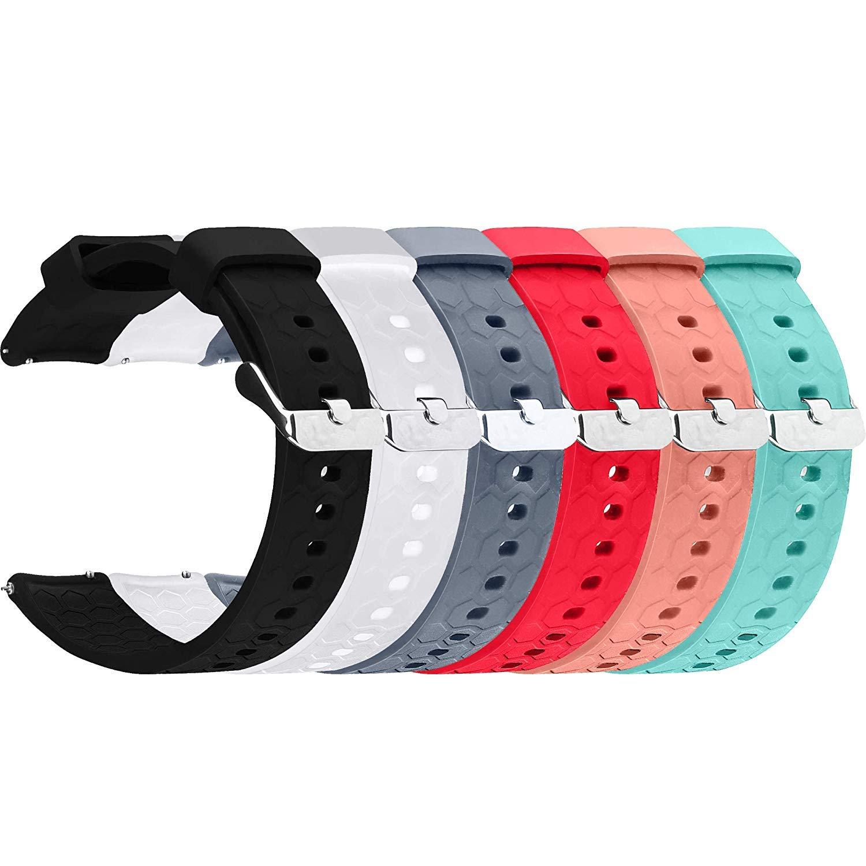 Amazon.com : ECSEM Silicone Bands Compatible COOKOO Smart ...