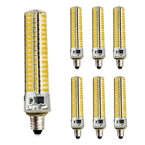 Pack de 6, E11 Bombilla LED regulable 220 V – 240 V, 4,