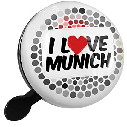 Amazon.com : NEONBLOND Bike Bell I Love Munich Scooter or ...