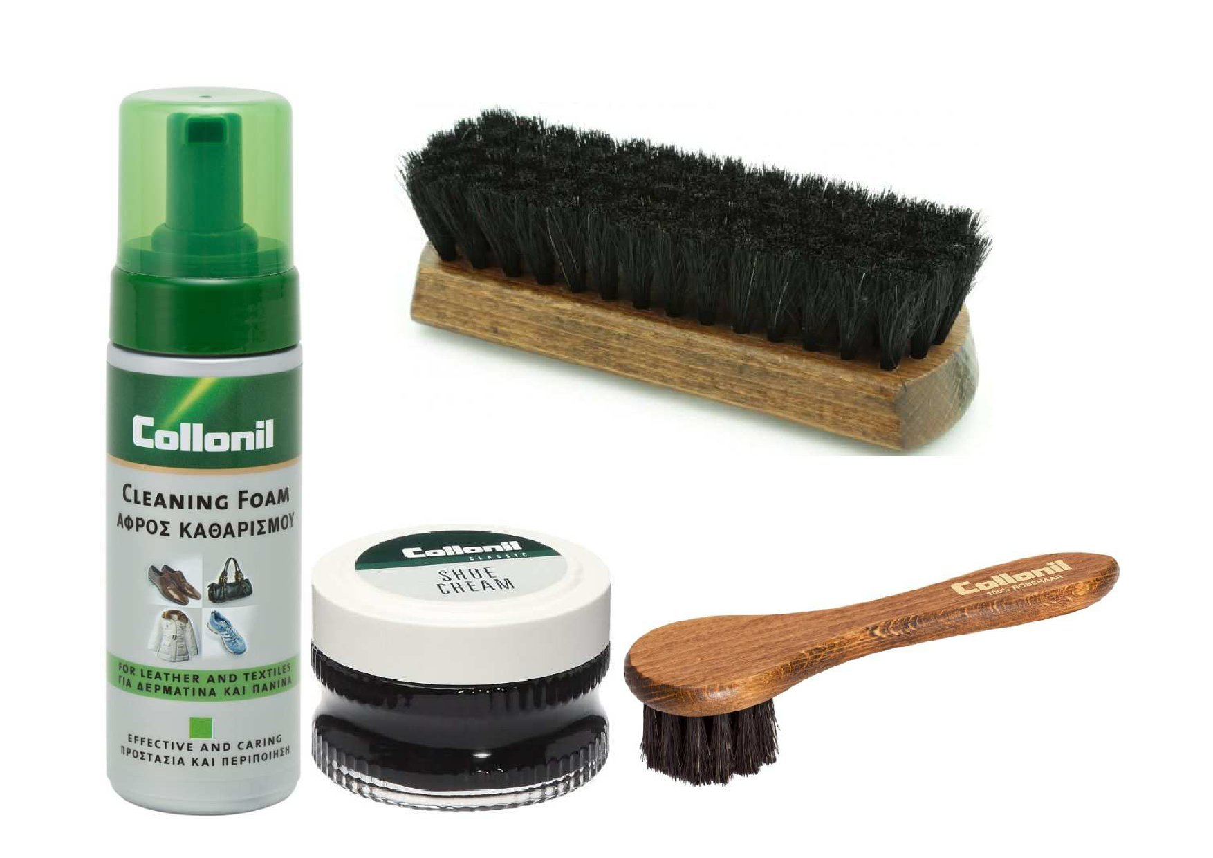 Collonil Shoe Care Travel Kit For Fine Smooth Leather And For Kids Shoes 15% Off (Red) by Collonil (Image #1)