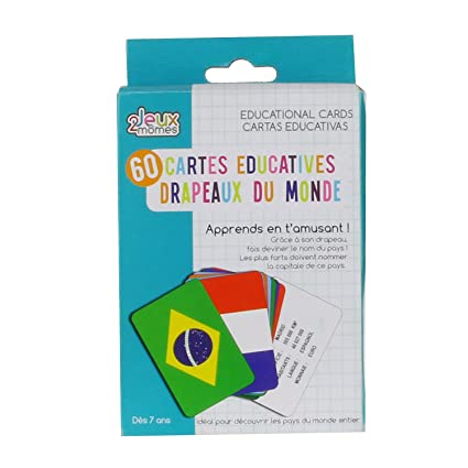 Amazon.com: Card Games Educatives 2 Momes – Countries and ...
