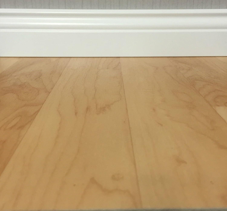 CV-Boden wird in ben/ötigter Gr/ö/ße als Meterware geliefert rutschhemmend /& robust CV PVC-Belag verf/ügbar in der Breite 200 cm /& L/änge 450 cm PVC Vinyl-Bodenbelag in Ahorn-Schiffsboden-Optik