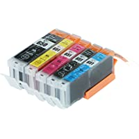 5-Pack Compatible Replacement for Canon PGI-650XL CLI-651XL Inkjet Cartridge