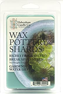 product image for Habersham Candle Company Gardenia Water Lily Wax Pottery Shards