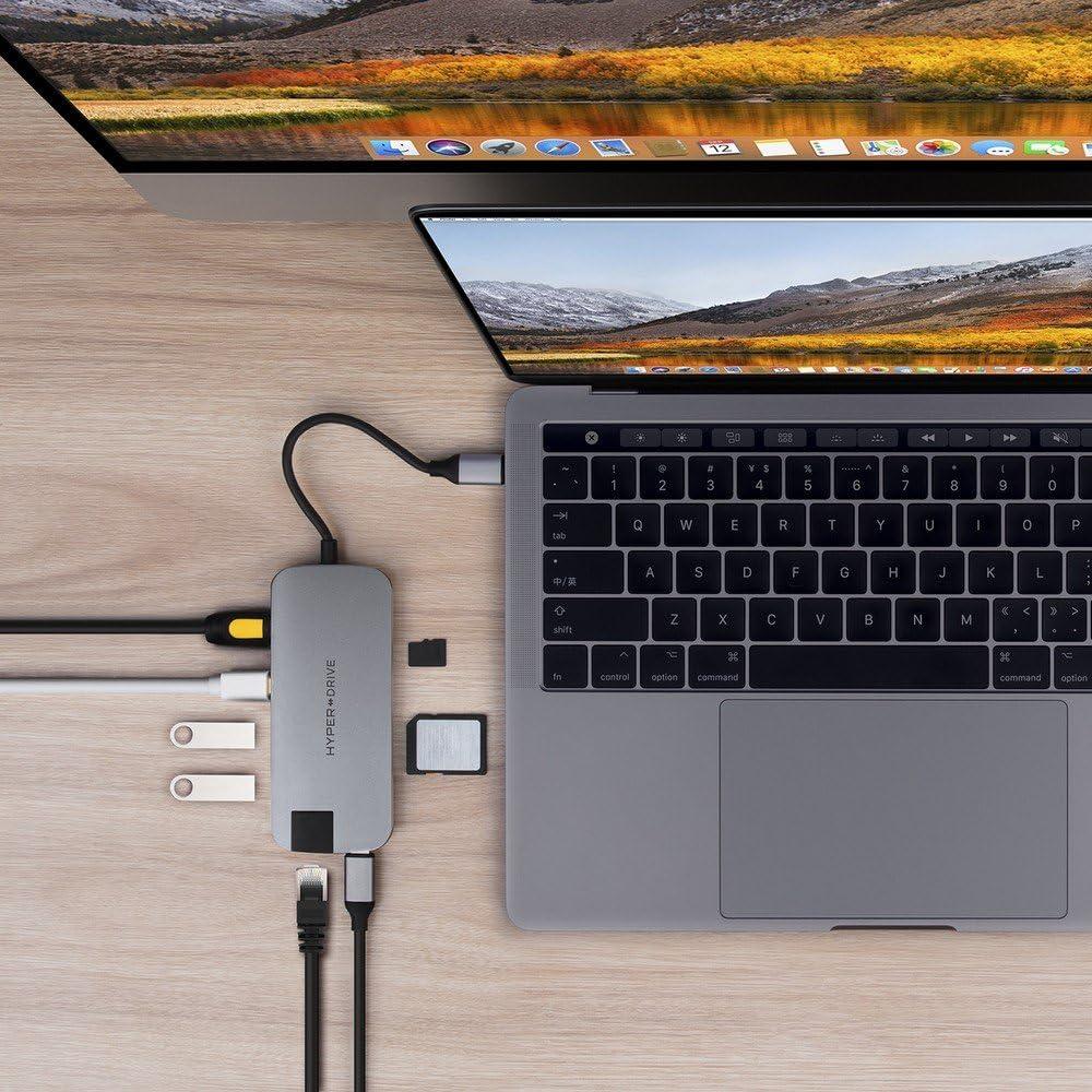 HyperDrive Hub Slim USB-C 8 en 1