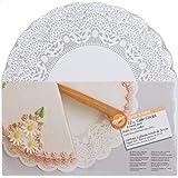 Wilton 12-Inch Show 'N Serve Cake Board, 8/Pack
