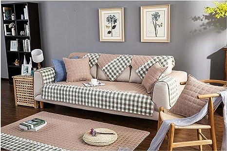 CYDPTZ Fundas de sofá Funda de sofá de algodón para Sala de ...