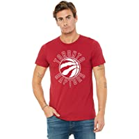 NBA Toronto Raptors Circle White on Red Tee