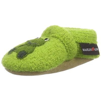 Haflinger Quak, Chaussures Souple pour Bébé (Garçon) - Vert - Grün (98 canarygreen)