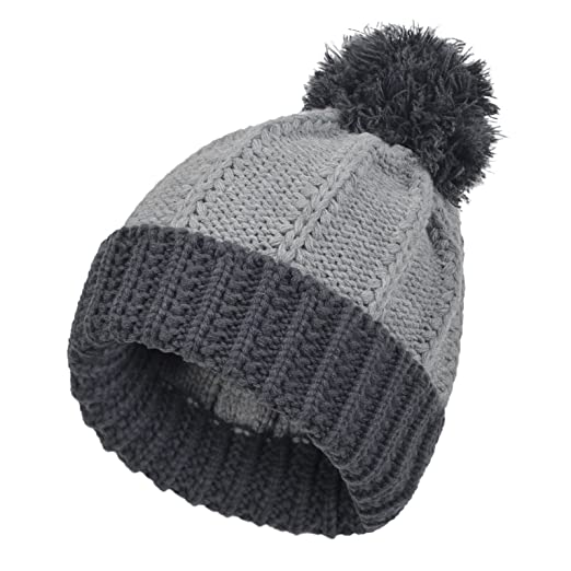 8c06b12ced9 Image Unavailable. Image not available for. Color  Janey Rubbins Men s  Knitted Beanie Pom ...
