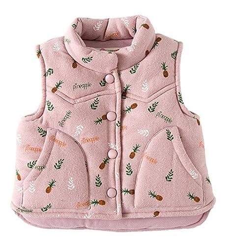 Niñas chaleco, zamack bebé infantil para chaquetas abrigo de ...