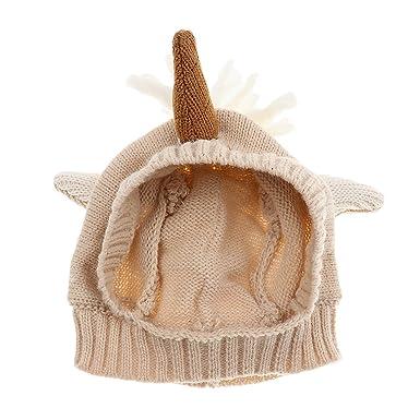 Sharplace Einhorn Kleinkind Baby Jungen Mädchen Winter Warm Häkeln