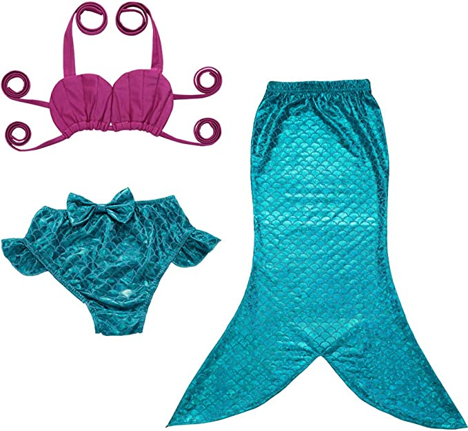 Amazon.com: jfeele sirena traje de baño para ...