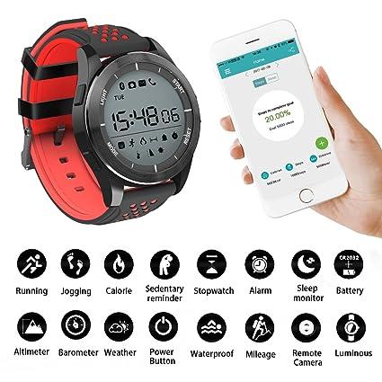 F3 Wireless Smart Bracelet Waterproof IP68 Sport Watch Support Altimeter/Pedometer/Barometer/UV Display/Sleep Monitor/Remote Camera/Message ...