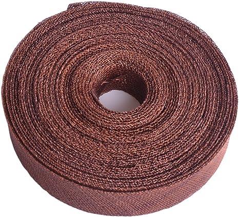 1 Meter Sinamay Bias Binding Tape for Millinery 3 cm Wide Navy Blue
