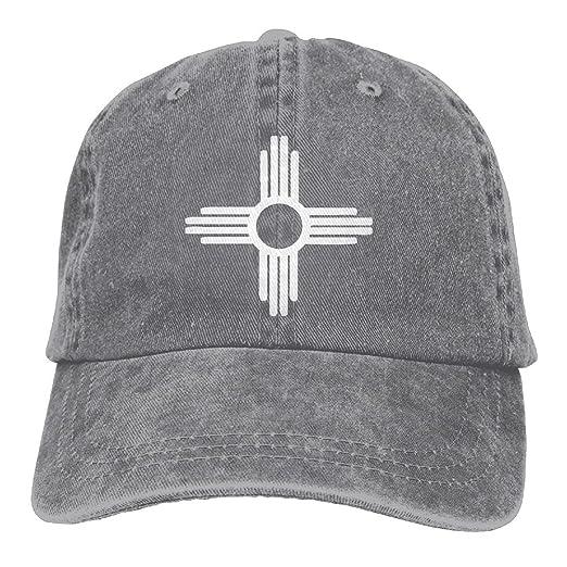 Amazon Alility Caps Zia Symbol Cotton Adjustable Denim Hat