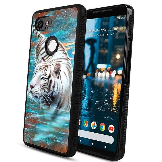 d9a407a5f49 LONHAO - Carcasa rígida de TPU para Google Pixel 2 XL Dreamcatcher, diseño  Personalizado, Color Negro, Tiger: Amazon.com.mx: Electrónicos