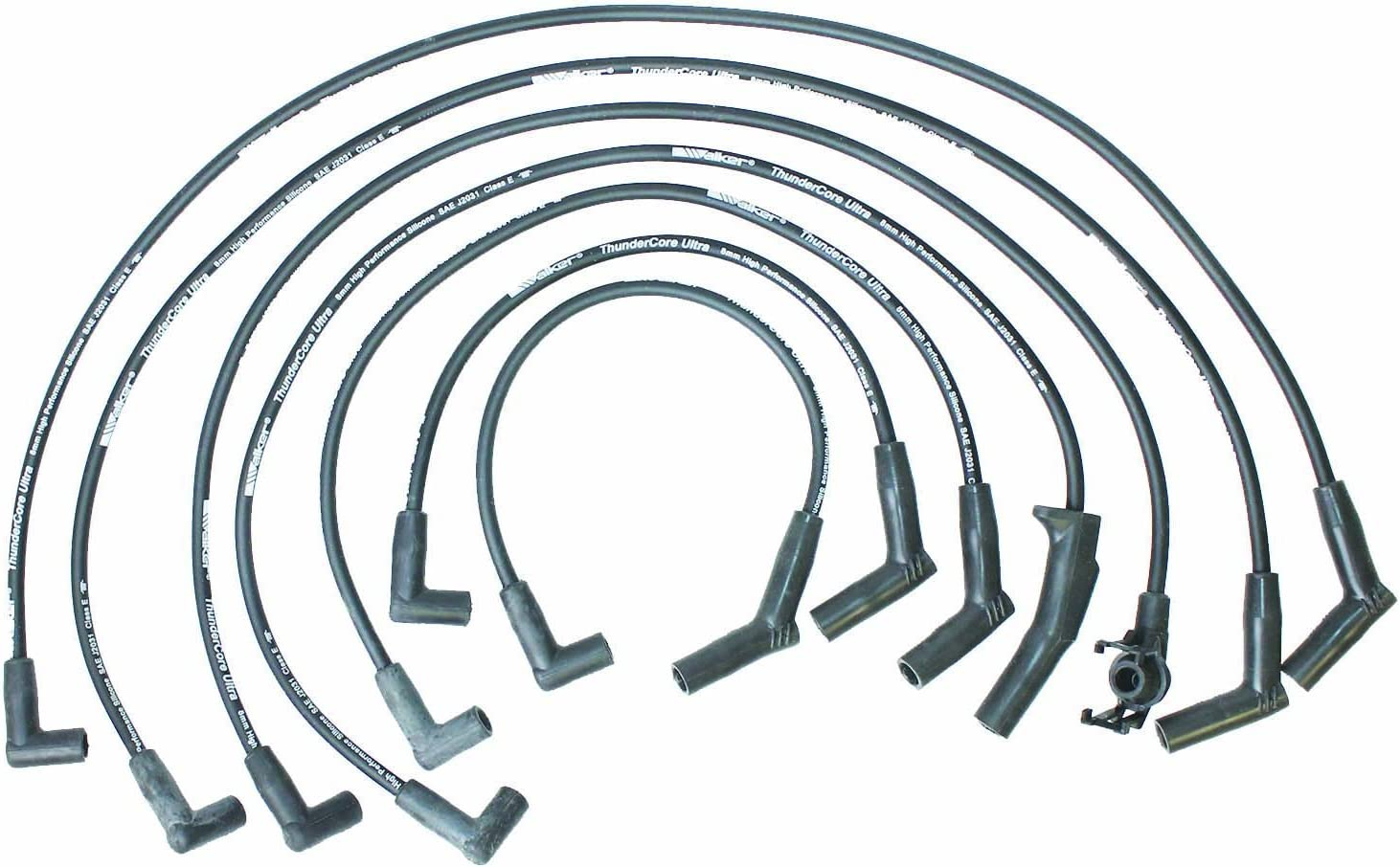 Walker Products 900-1375 Thundercore Ultra Spark Plug Wire Set