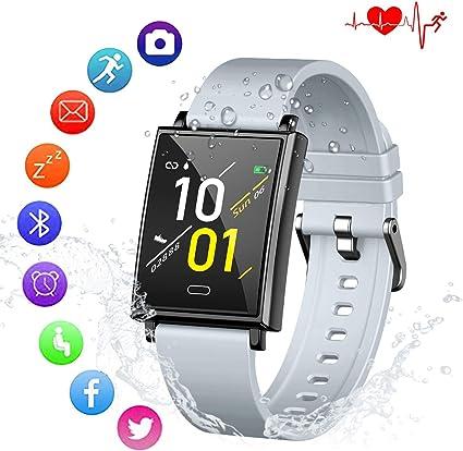 Amazon.com: AUSUN - Reloj inteligente de pulsera con ...