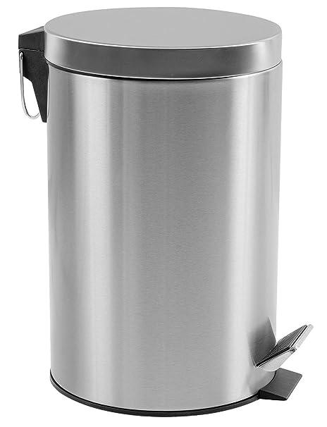 Amazon.com: Estilo cesto de basura de acero inoxidable ...