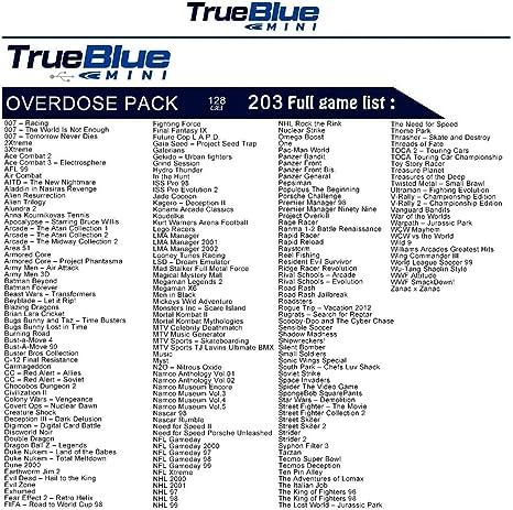 Entrega gratis True Blue Mini Overdose Pack 128G 203 Juegos para ...