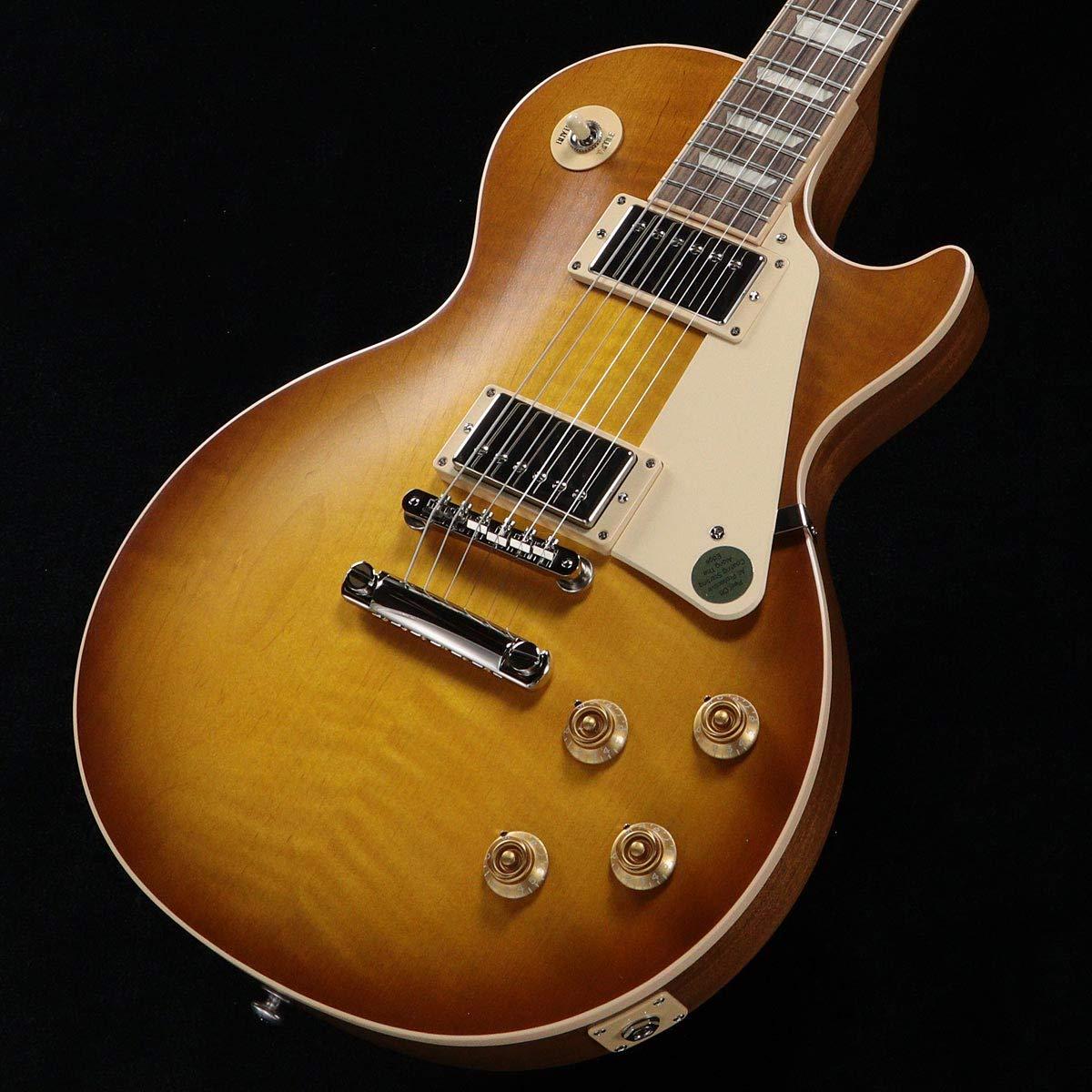 トミカチョウ Gibson Faded USA Honeyburst/Les Paul Satin Standard 2019 Faded Satin Honeyburst 50s Plain Top B07RBNP2QR, へしこ屋千鳥苑:b4968a4c --- sabinosports.com