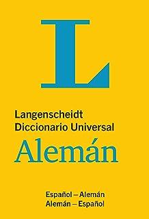 Langenscheidt Diccionario Universal Alemán (Spanish Edition): Espanol - Alemán / Alemán - Espanol