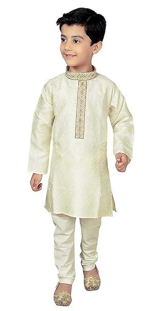 Chicos Sherwani Kurta Pijama Traje De Fiesta De Bollywood Outfit 931   Amazon.es  Ropa y accesorios 5d7781044c4