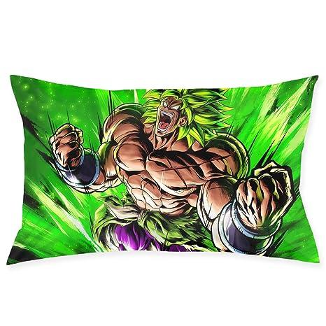 Amazon.com: Fundas de almohada Dragon Ball Super Broly Throw ...