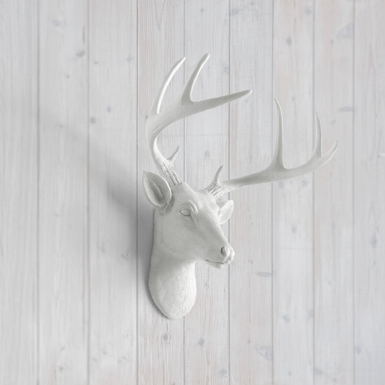 luxury ideas fake deer. Amazon com  Mini Deer by Wall Charmers White Faux Head Mount Bust Fake Animal Resin Taxidermy Sculpture Stag Buck Antler Fauxidermy Mounted Replica Decor