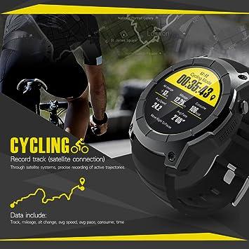 JingJingQismart S958 - Reloj Inteligente con GPS para Hombre ...