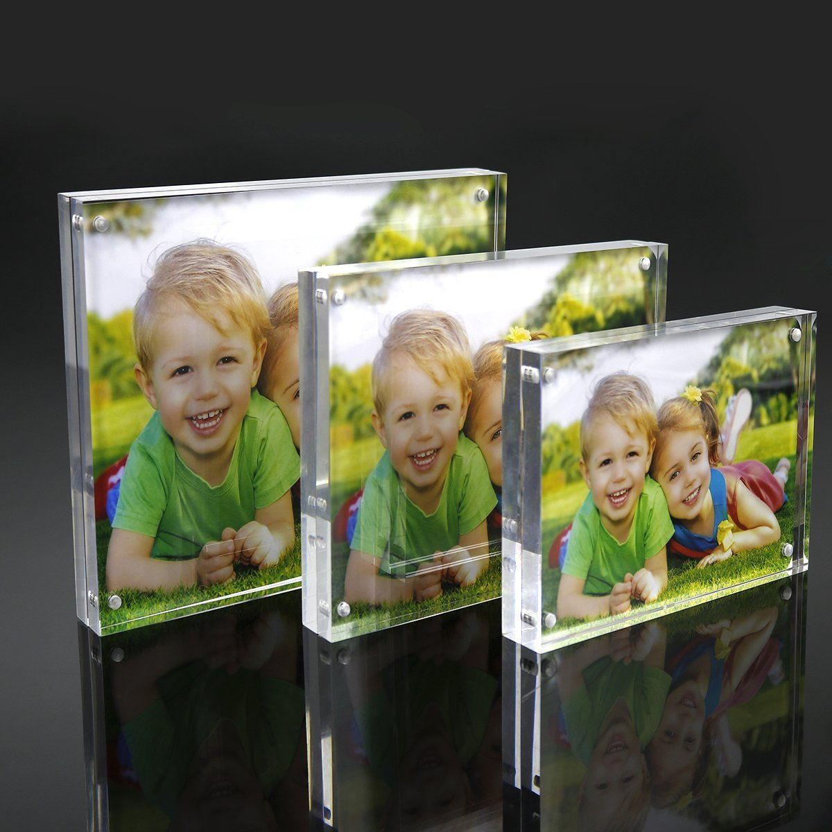 2018 Acrylic Framesclear 5x7 Double Sided Acrylic Picture Frame