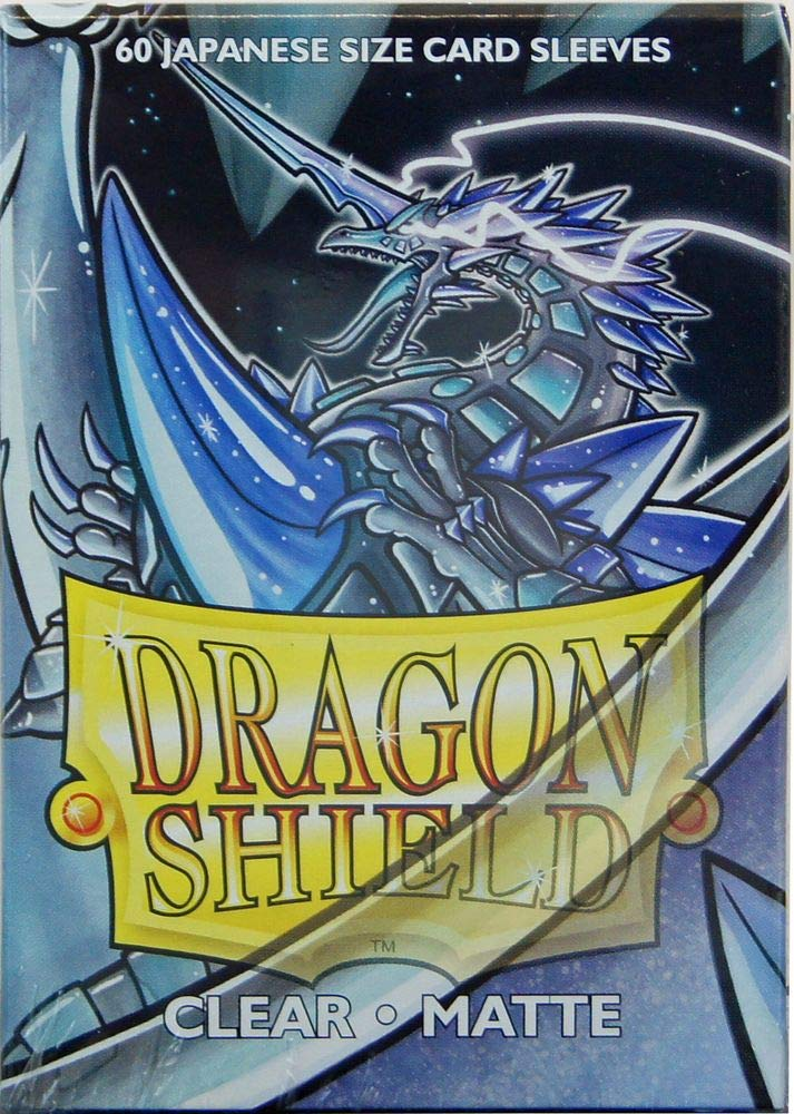 Arcane Tinman Sleeves 60 Dragon Shield Matte Japanese Clear