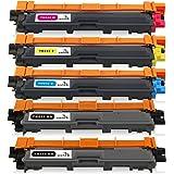 ONINO Cartucho de Tóner TN241 TN245 Compatible con TN241 TN245 para HL-3140CW HL-3150CDW HL-3170CDW DCP-9015CDW DCP-9020CDW MFC-9330CDW MFC-9130CW MFC-9340CDW MFC-9130CDN MFC-9140CDN