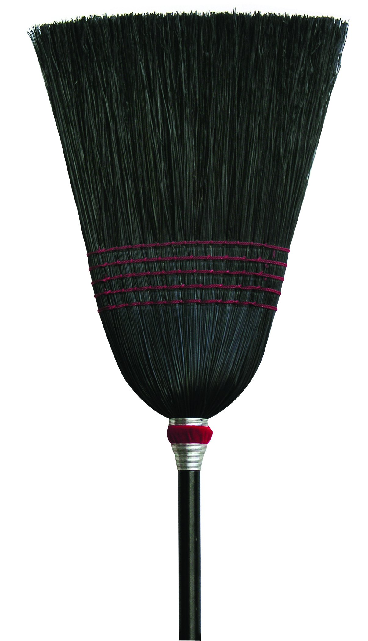 O'Cedar Commercial 6102-6 Parlor Black Corn Broom (Pack of 6)