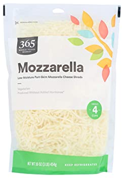 365 Without Growth Hormones Mozzarella Cheese