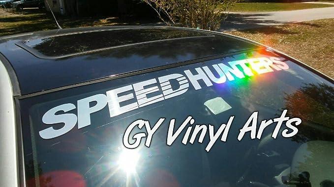 Supersticki Speedhunters Windshield Aufkleber Decal Hintergrund Maße In Inch S Cars Stickers Banners Jdm Graphics Die Cut Auto