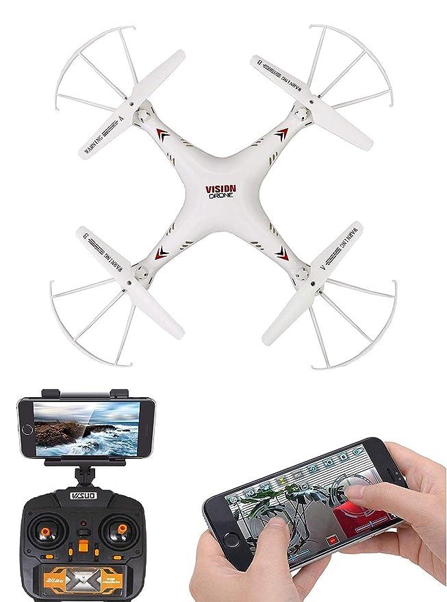 Amitasha Remote Control 360° Flip Camera Drone Flying WiFi Quadcopter - Multicolour