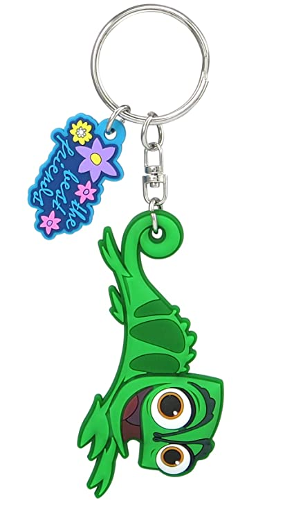 Disney Tangled - Pascal Soft Touch PVC Key Ring Key Accessory