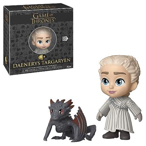 Funko Juego De Tronos Targaryen Figura 5 Stars Daenerys w/Drogon, Multicolor (37774)