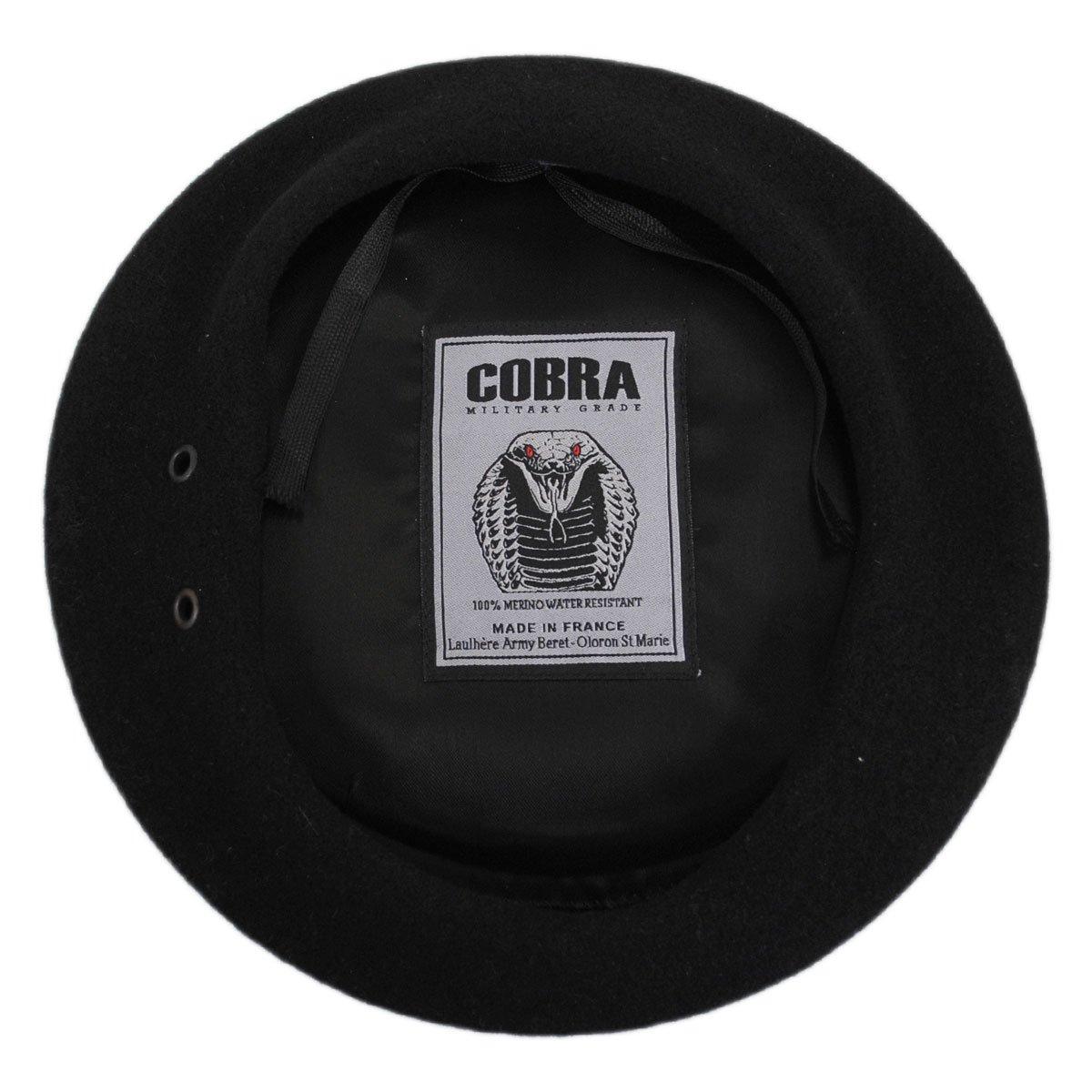 Cobra Wool Military Beret (61cm)