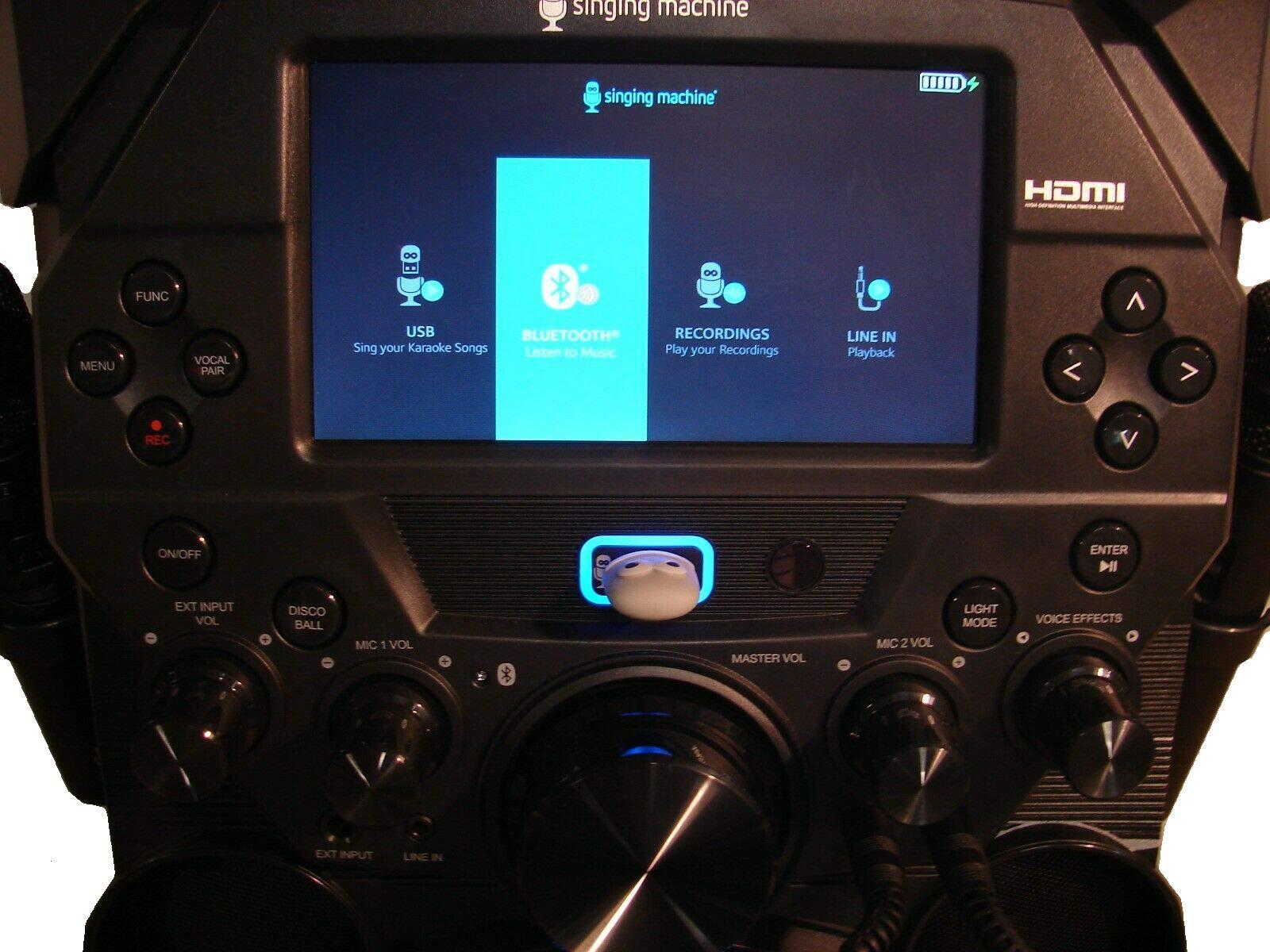 Amoldar 5inging Machine Fiest@ Voice Hi-Definition Karaoke System SDL9040 by Amoldar (Image #2)