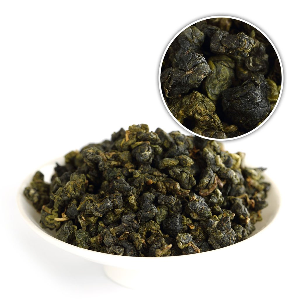GOARTEA 100g (3.5 Oz) Organic Premium Taiwan High Mountain Tung Ting TungTing Dong Ding DongDing Wulong Oolong Tea